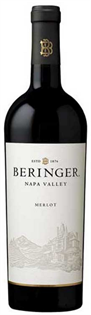 Beringer Merlot Napa Valley 2014 750ml